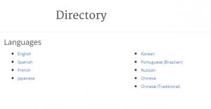 Coursera Languages