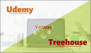 difference udemy vs treehouse