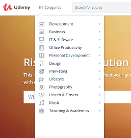 Udemy Course Topic