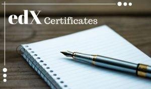 edx certificates