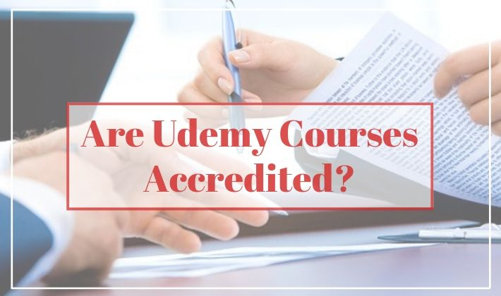 are udemy courses accredited