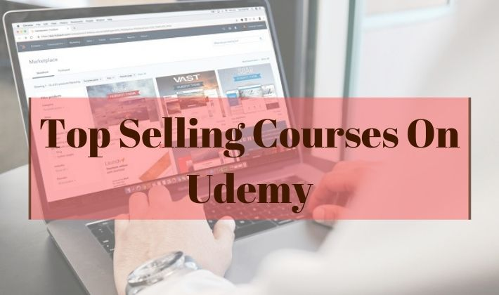 top selling courses on udemy
