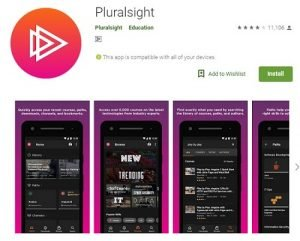 Pluralsight Android App