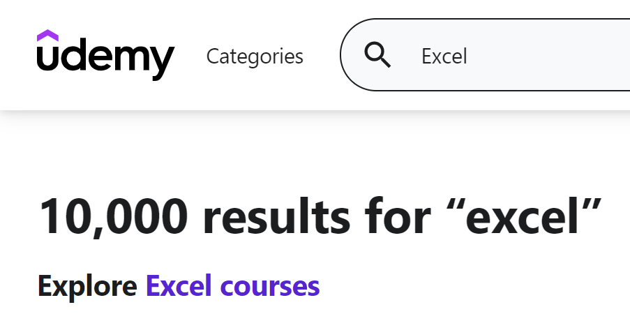 Udemy Excel Course Review