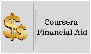 Coursera financiala aid scholarship