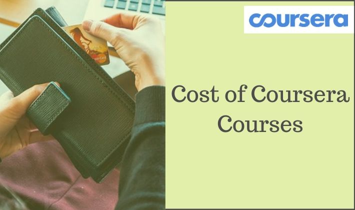 Coursera cost and subscription pricing