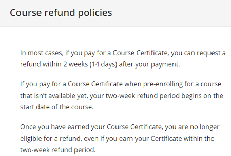 Coursera-refund-policies