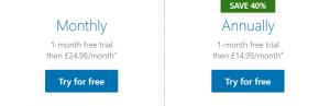 LinkedIn Learning pricing uk