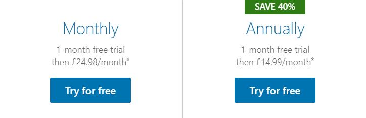 LinkedIn-Learning-pricing-uk