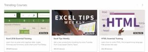 linkedin learning Trending Courses