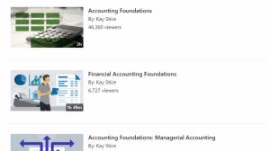 linkedin learning search finance